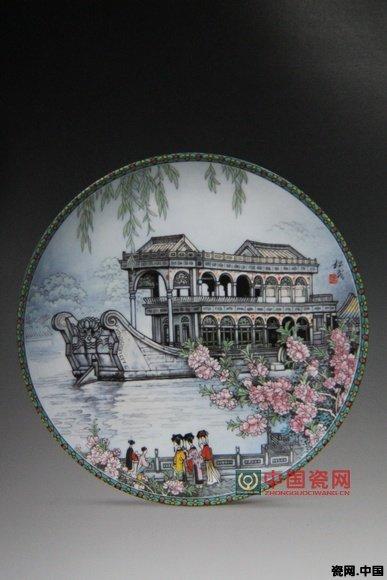 张松茂瓷画作品欣赏〈三〉