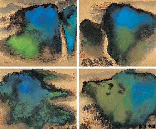 说到泼墨,我们再来看一张南宋作品,梁楷的《泼墨仙人图》-一些明