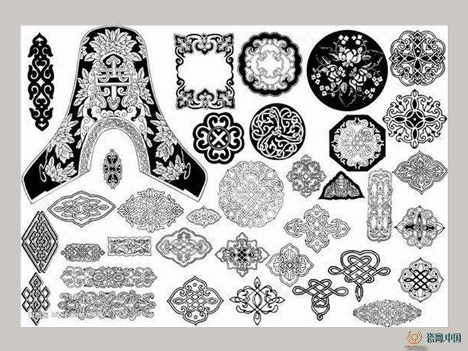 中国传统图案——青铜器纹样图片